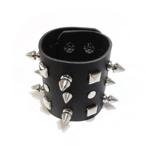 bracelete-com-6-spikes-3-cones