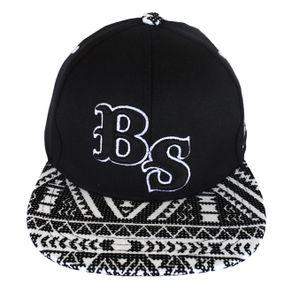 bone-black-sheep-infantil-skateboards-preto-branco-strapback
