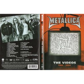 dvd-metallica-the-videos-1989-2004