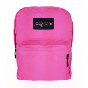 mochila-jansport-superbreak-fluorescent-pink