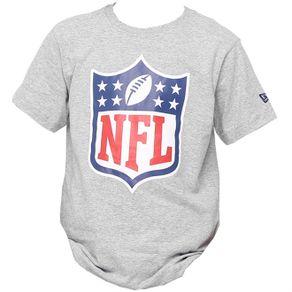 camiseta-new-era-basica-nfl-cinza-mescla-infantojuvenil