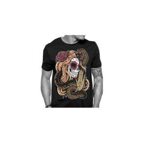 camiseta-catrina-snake-preta-masculino