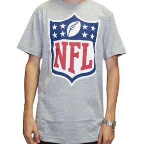 Camiseta New Era NFL Shield Cinza d250cce39a4