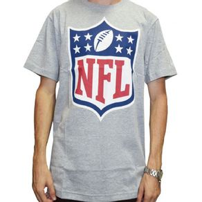 camiseta-new-era-nfl-shield-cinza