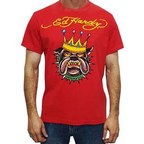 camiseta-ed-hardy-bulldog-vermelha-masculino