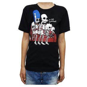 camiseta-os-simpsons-esqueleto-infantil