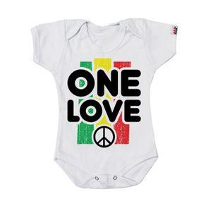body-infantil-bebe-one-love