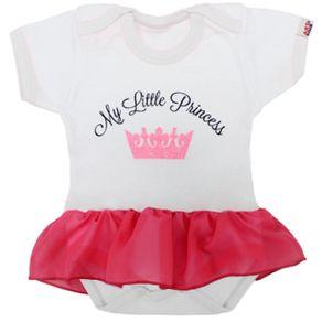 body-infantil-bebe-personalizado-com-saia-little-princess-branco