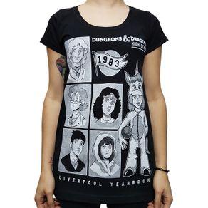 camiseta-babylook-caverna-do-dragao-high-school