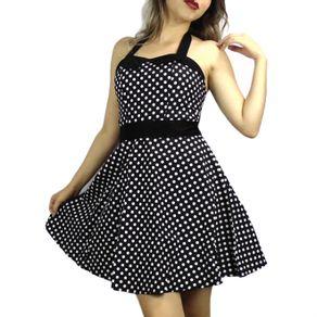 vestido-pin-up-preto-bolinhas
