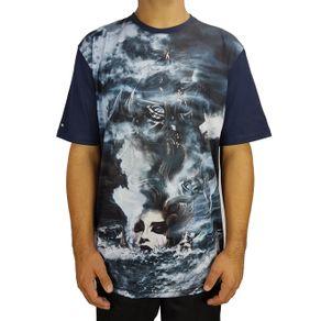 camiseta-lost-lost-girl-azul-marinho