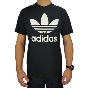 Camiseta-Adidas-Trefoil-Black-Preta