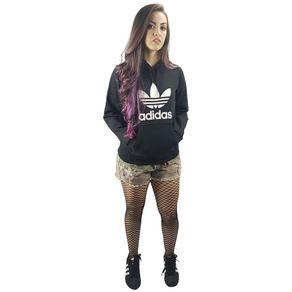 Blusa-Adidas-TRF-Logo-Hoody-Black-White