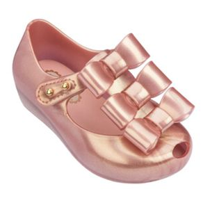 MINI-MELISSA-ULTRAGIRL-TRIPLE-BOW-ROSE-DOCH-METALIZADO