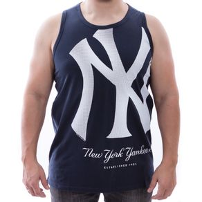 Camiseta-Regata-New-Era-Reticula-Nac-New-York-Yankees-Marinho