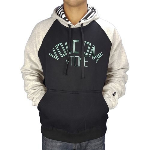 moletom-volcom-fechado-erkey-preto-cinza-mescla-unissex