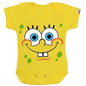 body-infantil-bebe-personalizado-bob-esponja