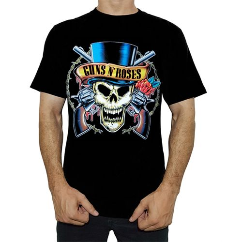 camiseta-stamp-guns-n-roses-skull-top-hat-ts179a