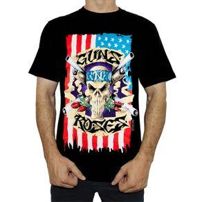 camiseta-guns-n-roses-skull-flag-ts272-s
