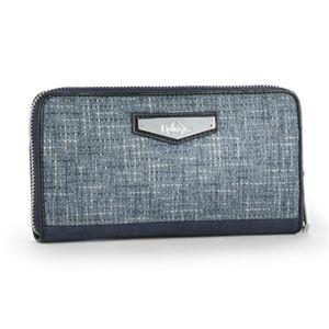 carteira-kipling-nimmi-azul-jeans-woven-haven