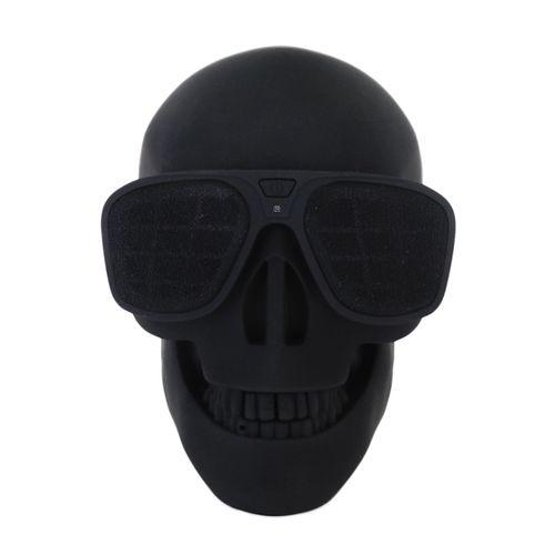 caixa-de-som-wireless-caveira-skull-preta