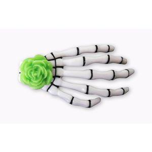 presilha-para-cabelo-mao-de-esqueleto-caveira-verde