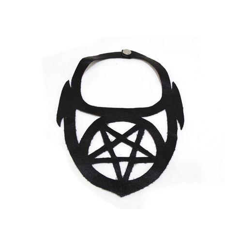gargantilha-gotica-pentagrama