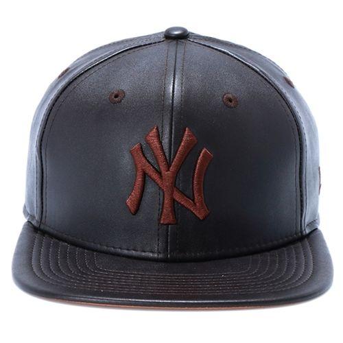 bone-new-era-9fifty-new-york-yankees-strapback-leather-brown