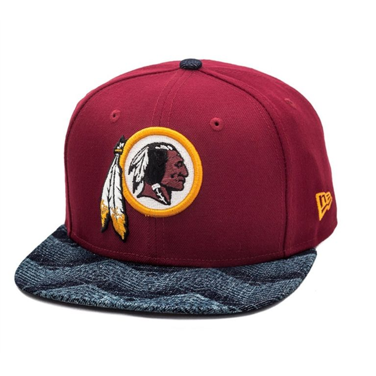 Boné New Era NFL Washington Redskins Snapback Vinho Mescla - galleryrock 561f3352368