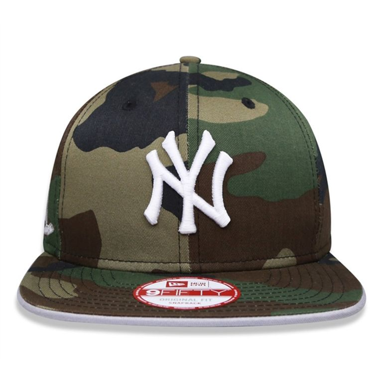 Boné New Era 9FIFTY New York Yankees MLB Snapback - galleryrock 3df36a82e55