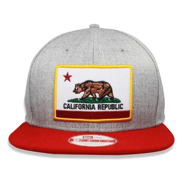 Boné New Era 9FIFTY California Republic Snapback Mescla - galleryrock c6e3094aa36