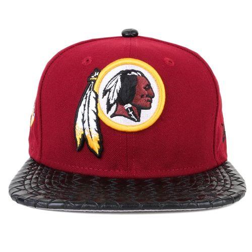 bone-new-era-visor-link-washington-red-skins-osfa-snapback