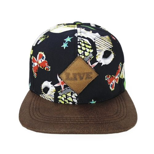 bone-live-drop-sea-azul-marrom-strapback