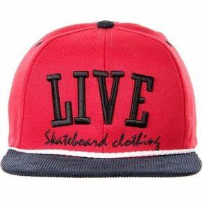 bone-live-vermelho-aba-azul-marinho-snapback