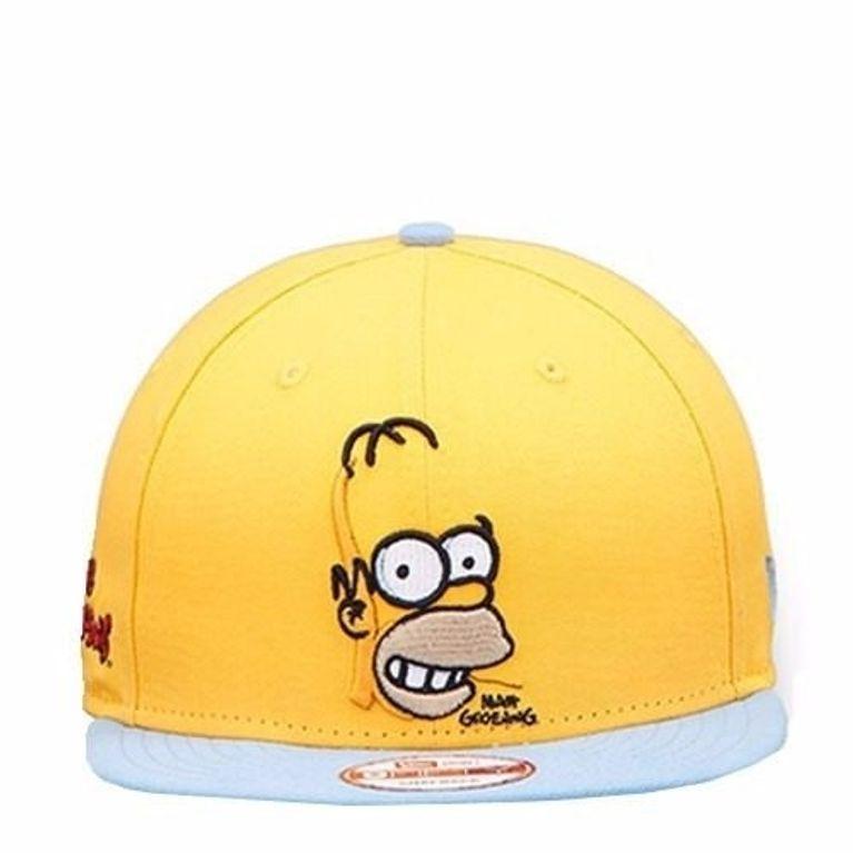 Boné New Era Homer Simpson The Simpsons Amarelo - galleryrock a6d4930fcf3