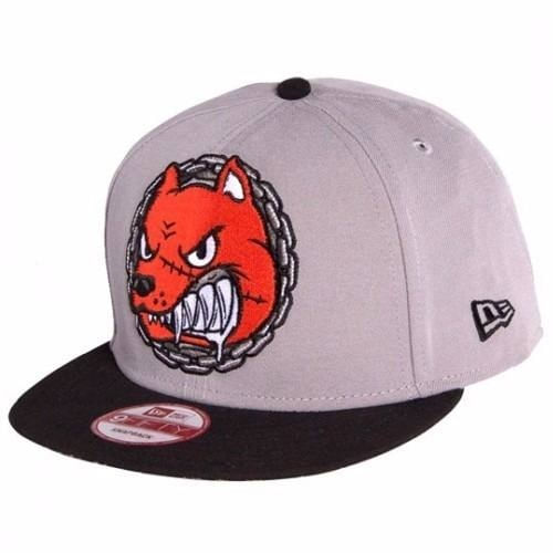 bone-new-era-tkdk-dog-cachorro-cinza-snapback
