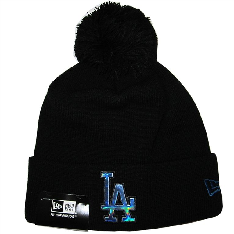 Gorro Touca New Era Oil Slick Infil Los Angeles Dodgers Osfa Preto ... 4b90ce11943