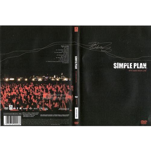dvd-simple-plan-mtv-hard-rock-live