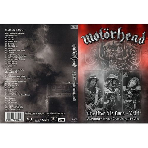 dvd-motorhead-the-world-is-ours-vol-i-everywhere-further-than-everyplace-else