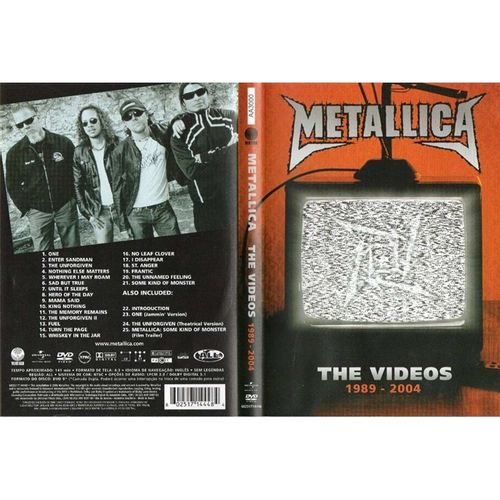 dvd-metallica-the-videos-1989-2004