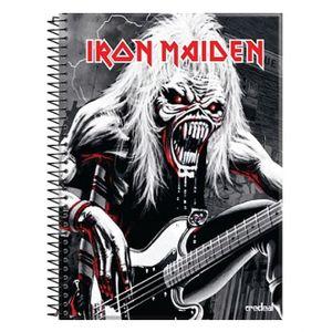 caderno-iron-maiden-fear-of-the-dark-guitarra-10-materias
