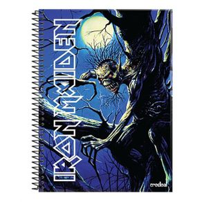 caderno-iron-maiden-fear-of-the-dark-10-materias