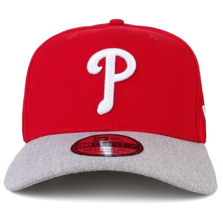 3ec61b8806 Boné New Era Aba Curva 39Thirty Seasonal Top Philadelphia Phillies S ...
