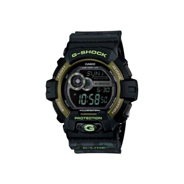 90f454323b6 Relógio Casio G Shock Camuflado Preto GLS-8900CM-1 - galleryrock
