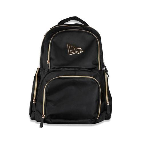 mochila-new-era-basica-branded-preto-dourado