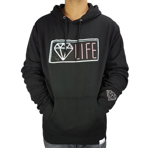 moletom-diamond-canguru-neon-hoodie-preto