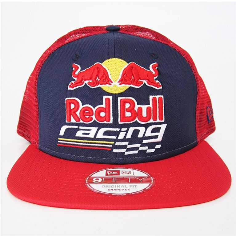 Boné New Era 9fifty Red Bull Grid Racing Snapback - galleryrock 3426d75065d