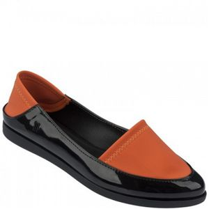melissa-space-sport-preto-laranja-l65