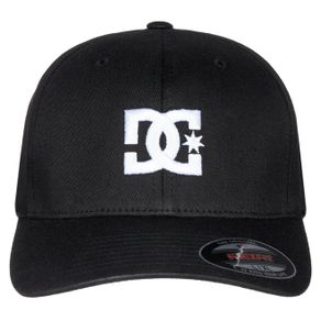bone-dc-cap-star-black-preto-flexfit-fechado