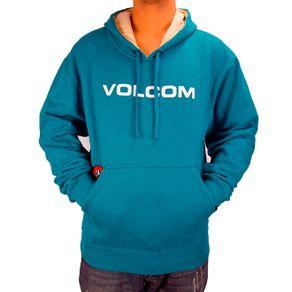 moletom-volcom-canguru-straight-azul